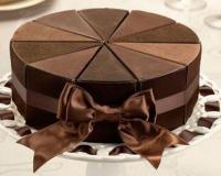 Kakšna mora biti velikost obroča za 16,18,20,25,30 kosov torte?