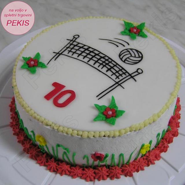 Torta za Odbojkarico