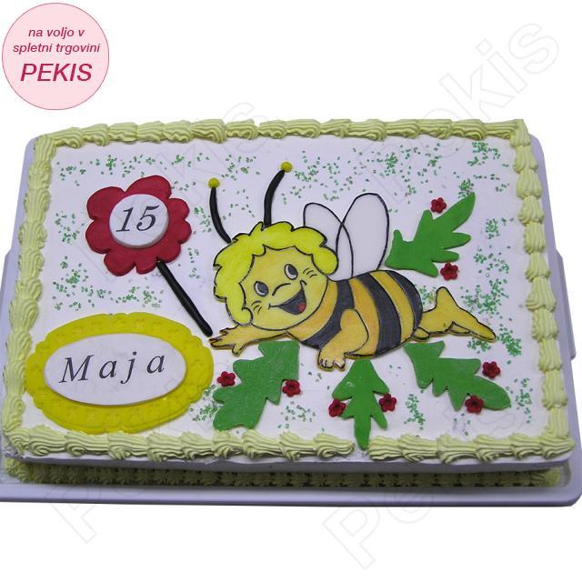 Torta čebelica Maja