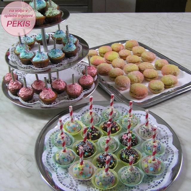 Muffini, CakePops in breskvice
