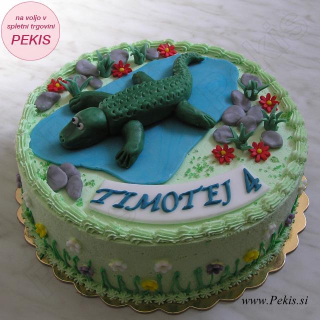 Torta KROKODIL