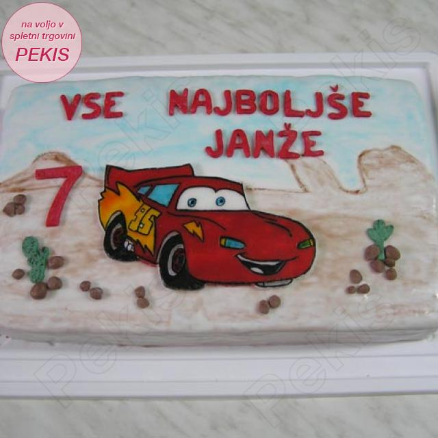 Torta Strela Mcqeen