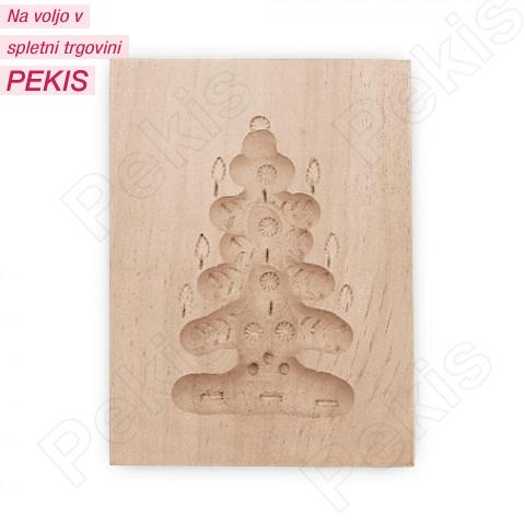 Modelček Springerle, Božično Drevo 8 x 5,5 cm