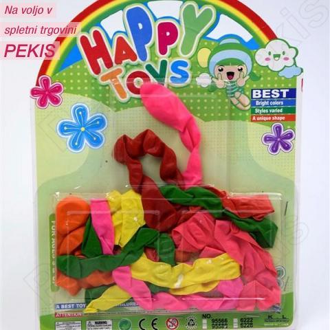 Baloni za Party - pisani deževniki
