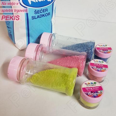 Barvni sladkor za sladkorno peno