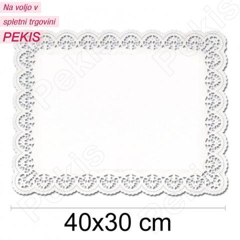 Prtiček s čipko 40x30 cm