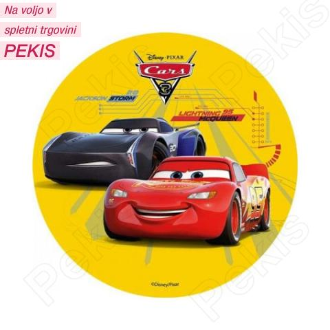Hostija Cars, Strela Mcqeen - 14,5 cm - št.1