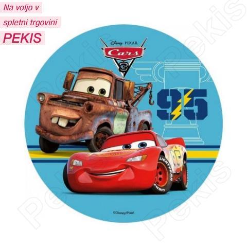 Hostija Cars, Strela Mcqeen - 14,5 cm - št.3