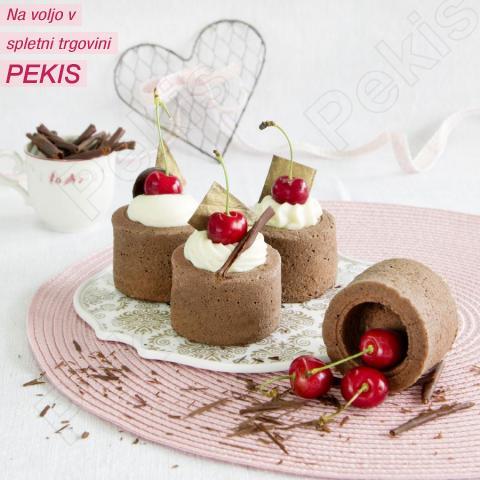 Recept za čokoladno-češnjeve skodelice