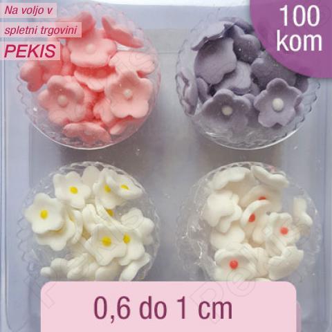 Sladkorne Mini rožice (0,6-1cm) 100 kom