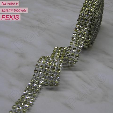 Diamantni trak – Zlat