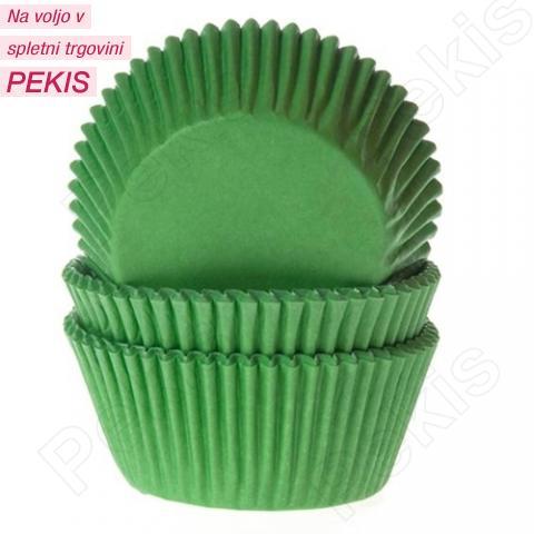 HoM papirčki za muffine ZELENI