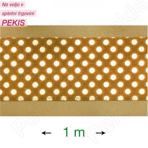 Dekorativni trak za obrobo torte (1 m) zlat