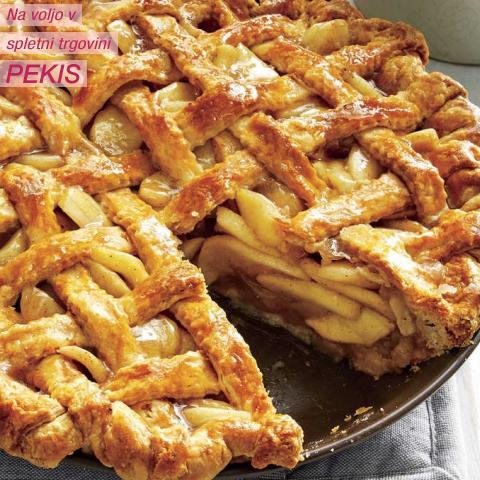 Recept - Slastna jabolčna pita