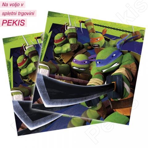 Servieti Ninja Želve