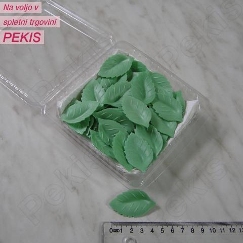 Listki zeleni – 4 cm