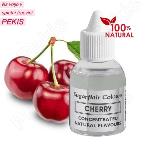 Sugarflair 100% naravna aroma češnje, 30 ml