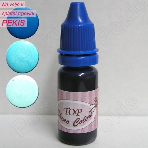 Barva za belo čokolado in obliv – Modra