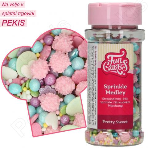 Posip pastelna sladkost mix 65g, FunCakes