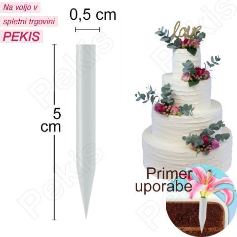 Vstavek za cvetje, velikost 5 cm