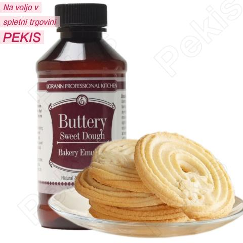 Masleno sladko testo emulzija za peko in aromo