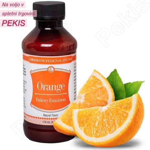 Pomaranča (naravna) emulzija za peko in aromo