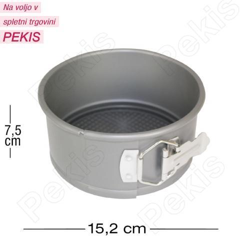 PME aluminijast pekač z odstranljivim dnom Ø 15,2 cm, višina 7,5 cm