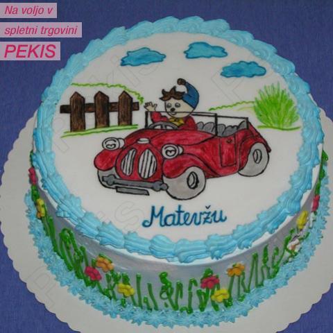 Torta NODI - Recept za torto