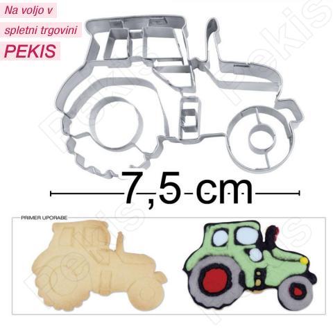 Modelček traktor št.2, rostfrei