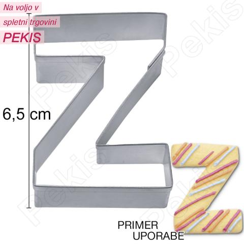 Modelček Črka 6,5cm, rostfrei, Z