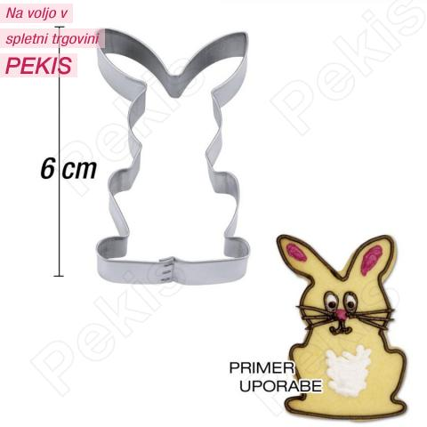 Modelček Zajček 6 cm, rosfrei