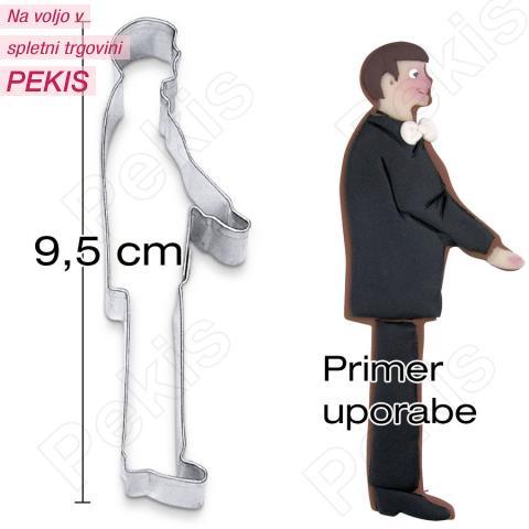 Modelček Ženin 9,5 cm, rostfrei
