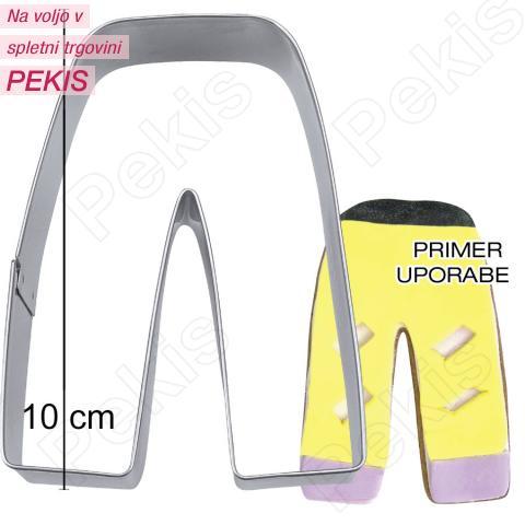 Modelček Smučarske hlače 10cm, rostfrei