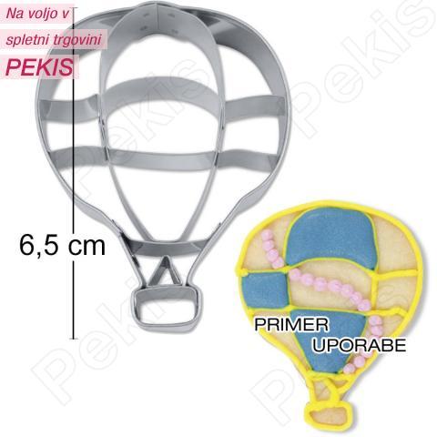 Modelček Toplozračni balon 6,5cm, rostfrei