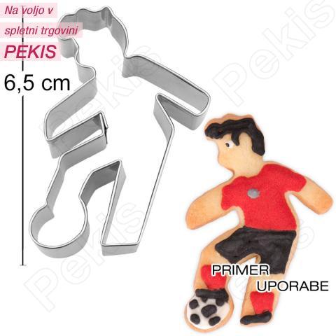 Modelček Nogometaš 6,5cm, rostfrei