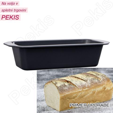 Pekač za najvišje zahteve za kruh ali pecivo 30cm