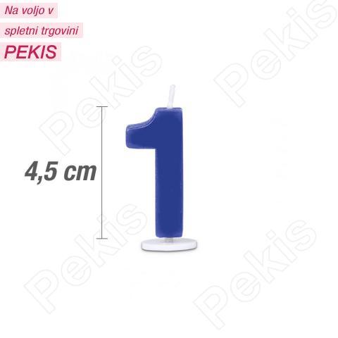 Svečka številka 1 - Modra