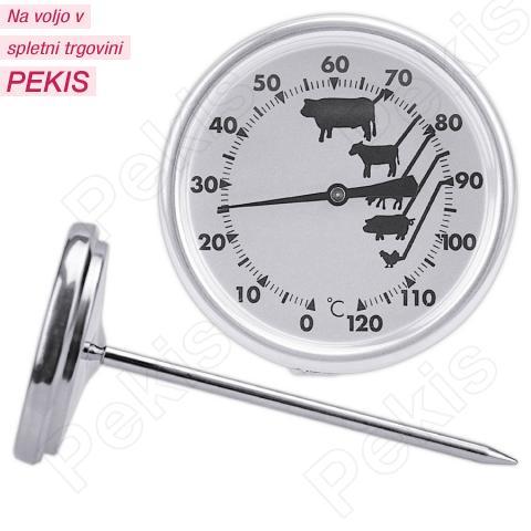 Termometer za žar in pečenje