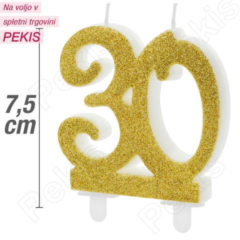 Zlata svečka za 30 let