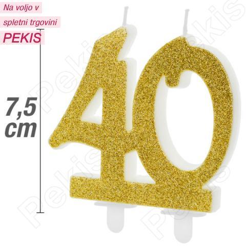 Zlata svečka za 40 let