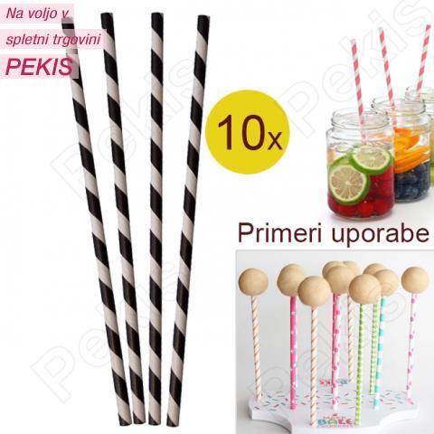 Palčke za Cake Pops ali slamce 10 kom št.5