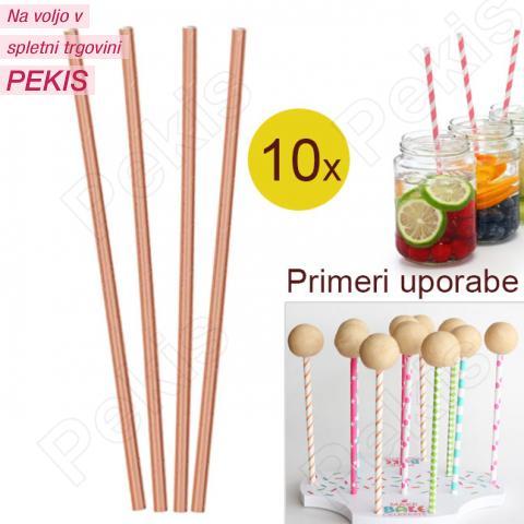 Palčke za Cake Pops ali slamce 10 kom št.36