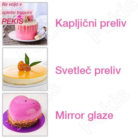 Svetleče glazure - katero glazuro izbrati - zrcalni izgled