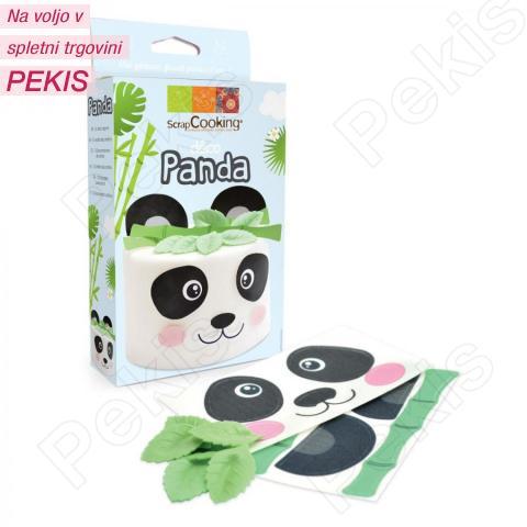 Wafer dekoracija panda