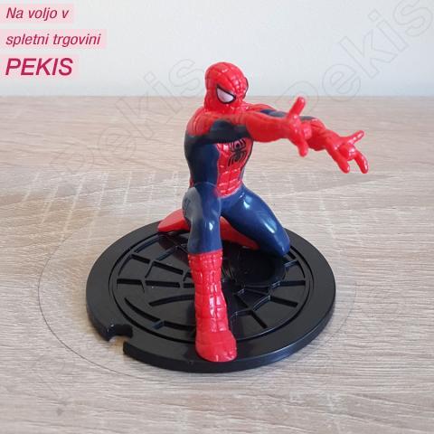 Spiderman v počepu