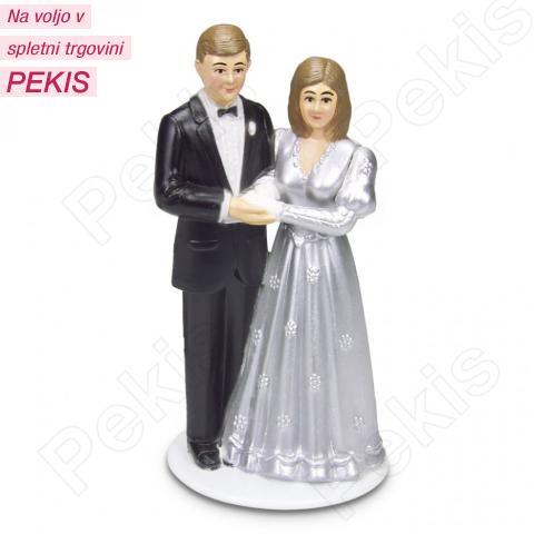 Figurica za torto - Srebrna obletnica poroke 2