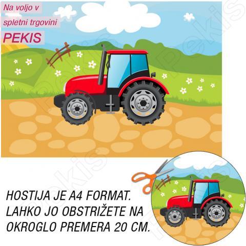 Hostija Traktor, Rdeč A4