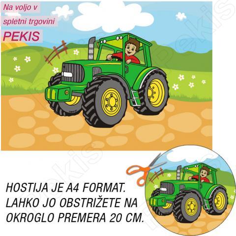 Hostija Traktor št.3