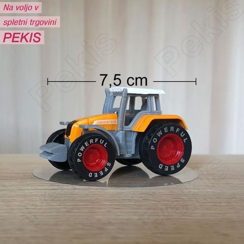 Figurica oranžen Traktor