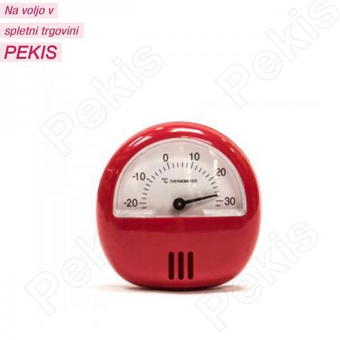Termometer za hladilnik, zamrzovalnik, rdeč